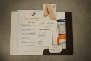 """Szkolenie """"Choroby stopy wpraktyce podologa ikosmetologa"""""""