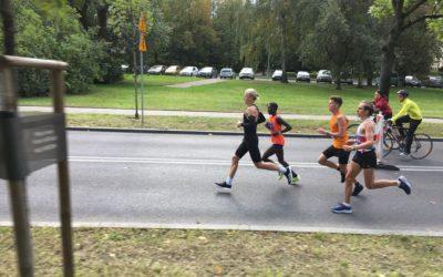 Fizjoterapeuta Mateusz Baran trzecim Polakiem w41. PZU Maratonie Warszawskim