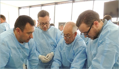 Warsztaty treningowe zchirurgii stopy płaskiej