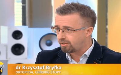 """DrKrzysztof Bryłka ekspertem w""""Dzień Dobry TVN"""""""
